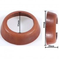 Leather seals / washers TYP75 for ornamental cast iron garden hand water pumps
