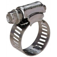 "Hose Clip 1 1/4"" Stainless Steel 30-40mm"
