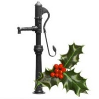 Cast Iron Nostalgic Hand Water Pump