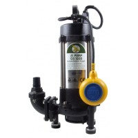 GS 1200 Pump Submersible Sewage Grinder Pump Fitted with Float Switch 110v 120 LPM 20 HM