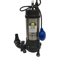 GS 1500 Pump Submersible Sewage Grinder Pump Fitted with Float Switch 230v 150 LPM 25 HM