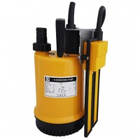 RS 100 Pump Submersible Water Pump fitted with Reka Regulator 110v 75 LPM 7 HM